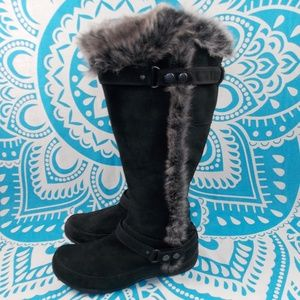 The North Face Warm Winter Boots Size 10 Fur